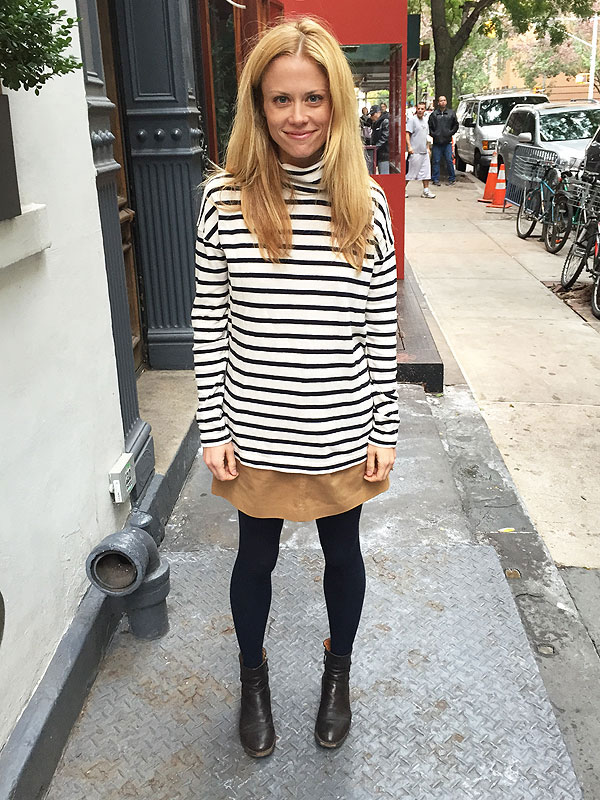 Claire Coffee J Crew Sweater