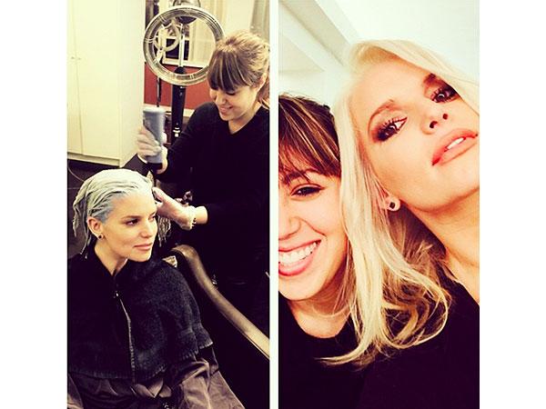 Jessica Simpson blonde hair