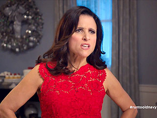 Which Five-Time Emmy Winner Just Got a Gig as the Face of Old Navy? | Julia Louis-Dreyfus