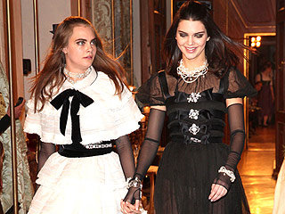See Kendall Jenner and Cara Delevingne's Gorgeous Chanel Runway Walk Together | Cara Delevingne, Kendall Jenner