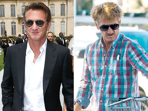 Sean Penn Blond hair