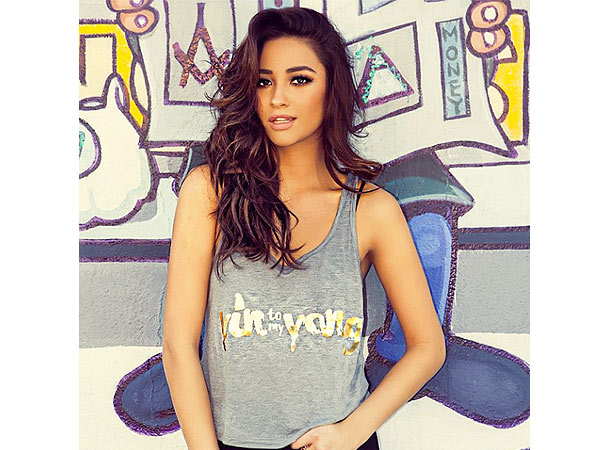 Shay Mitchell shirt collection
