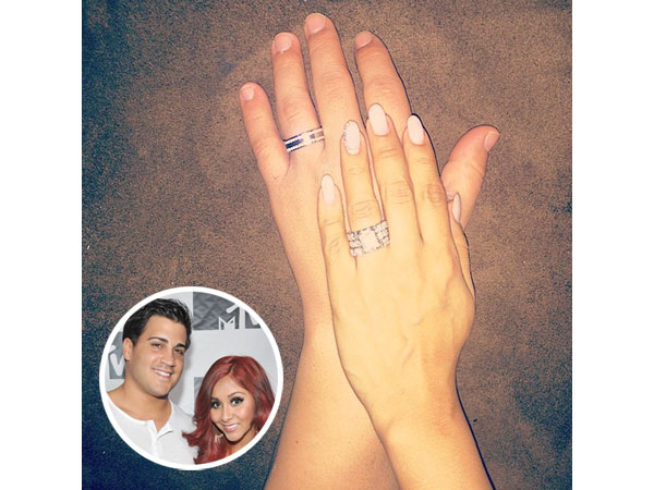 Snooki Wedding rings