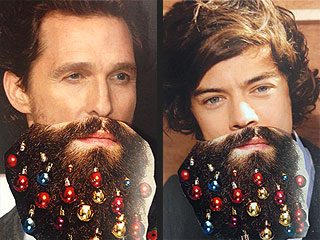 Beard Baubles Are a Thing This Season: We Tried Them on 4 Hot Celeb Dudes