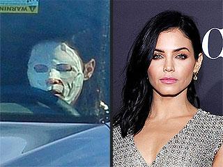Jenna Dewan-Tatum Wears a Beauty Face Mask While Driving (PHOTO)