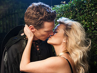 Why Are Reese Witherspoon and Benedict Cumberbatch Making Out? (Yes, We're Jealous)