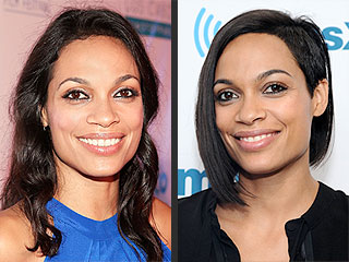 Today In Hair Changes: Rosario Dawson's Half-Shave Bob and Brie Larson's Brunette Hue