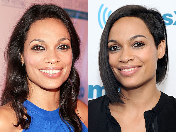 Rosario Dawson haircut