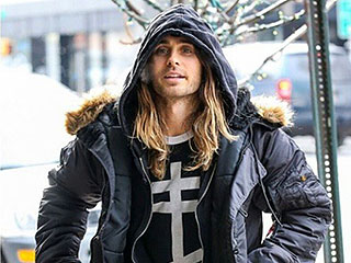 Steal Jared Leto's Entire Look (Man Bun Not Included)