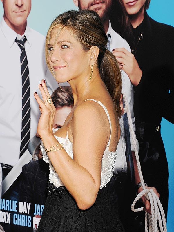 Jennifer Aniston pony