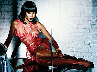 PHOTOS: Naomi Campbell Fronts Sexy Agent Provocateur Campaign at 44 | Naomi Campbell