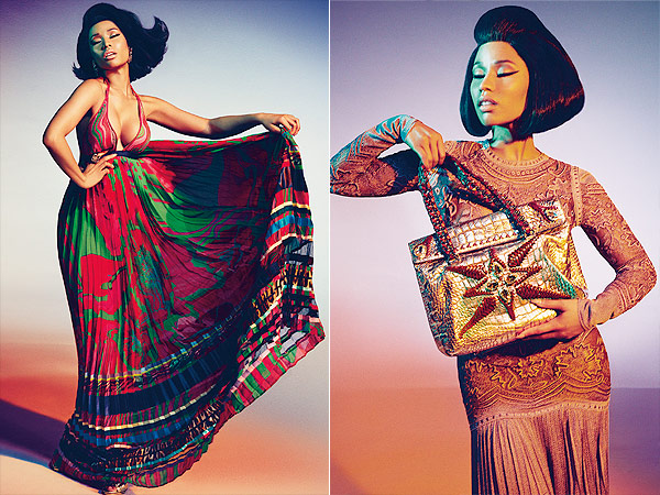 Roberto Cavalli/Nicki Minaj ad