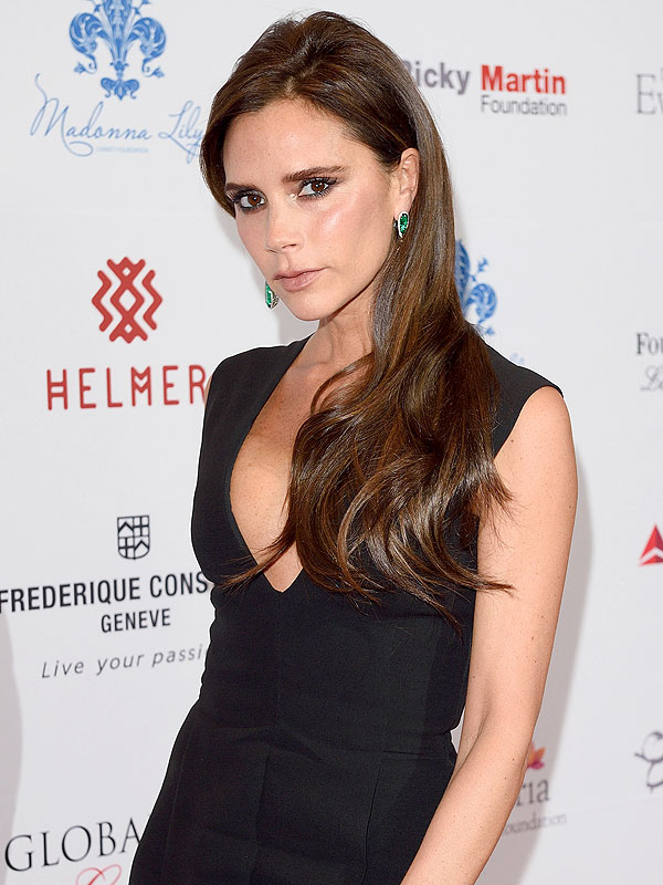 Victoria Beckham beauty routine