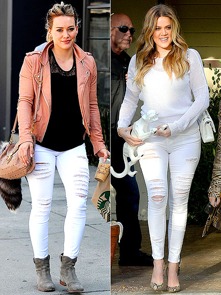 HILARY VS. KHLOÉ  photo | Hilary Duff, Khloe Kardashian