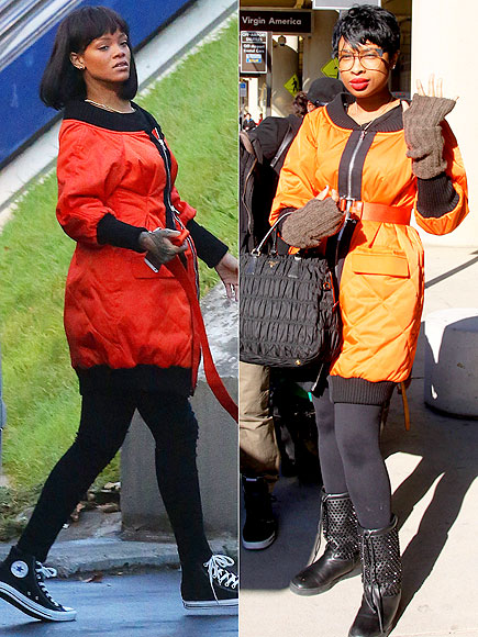 RIHANNA VS. JENNIFER photo | Jennifer Hudson, Rihanna
