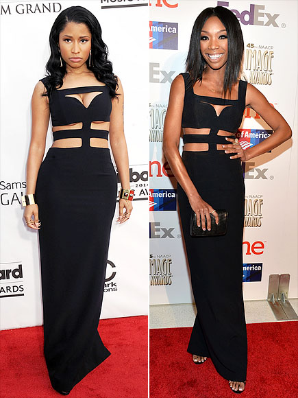 NICKI VS. BRANDY  photo | Brandy, Nicki Minaj