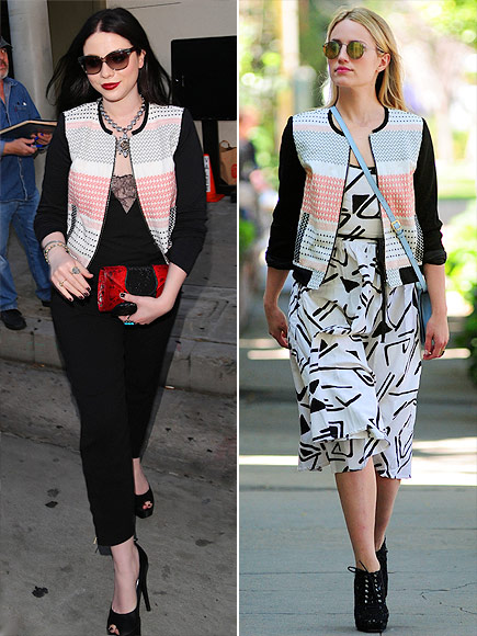 MICHELLE VS. DIANNA photo | Dianna Agron, Michelle Trachtenberg
