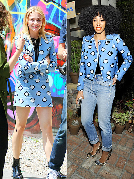 CHLOË VS. SOLANGE  photo | Chloe Grace Moretz, Solange Knowles
