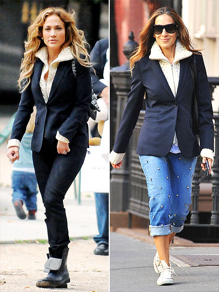 JENNIFER VS. SARAH JESSICA  photo | Jennifer Lopez, Sarah Jessica Parker