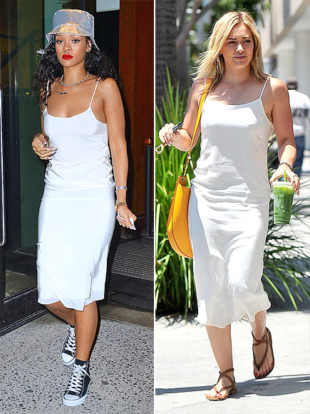 RIHANNA VS. HILARY photo | Hilary Duff, Rihanna