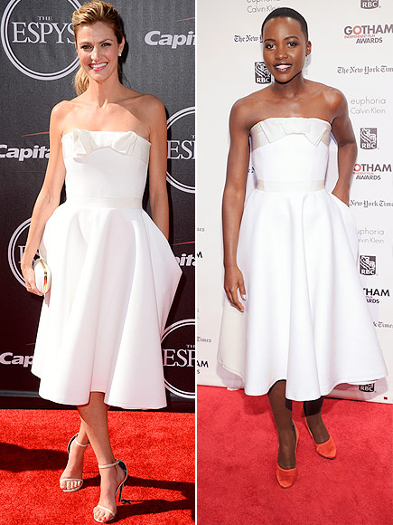ERIN VS. LUPITA  photo | Erin Andrews, Lupita Nyong'o