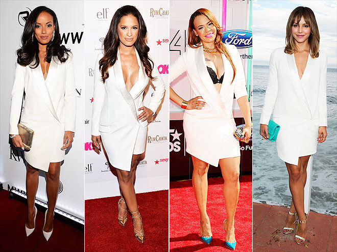 SELITA VS. ROCSI VS. FAITH VS. KATHARINE photo | Faith Evans, Selita Ebanks