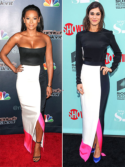 MEL B. VS. LIZZY photo | Lizzy Caplan, Melanie Brown