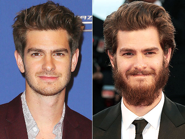 Andrew Garfield beard