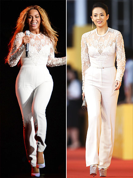 BEYONCÉ VS. ZHANG  photo | Beyonce Knowles, Ziyi Zhang