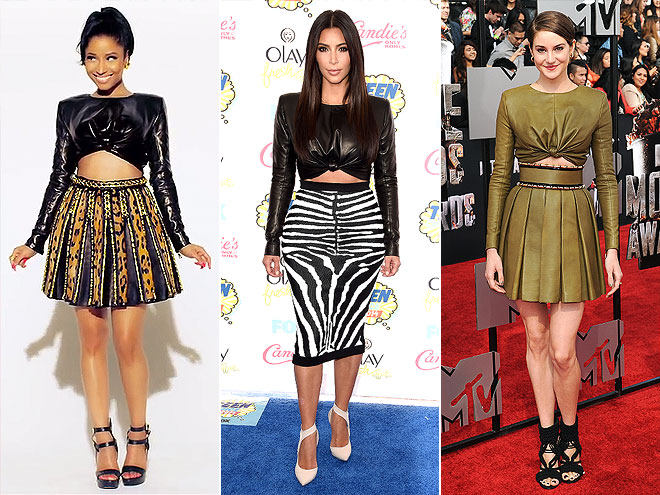 NICKI VS. KIM VS. SHAILENE  photo | Kim Kardashian, Nicki Minaj, Shailene Woodley