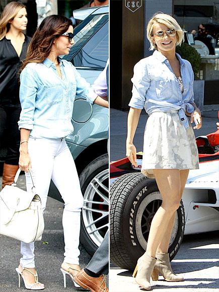EVA VS. JULIANNE  photo | Eva Longoria, Julianne Hough