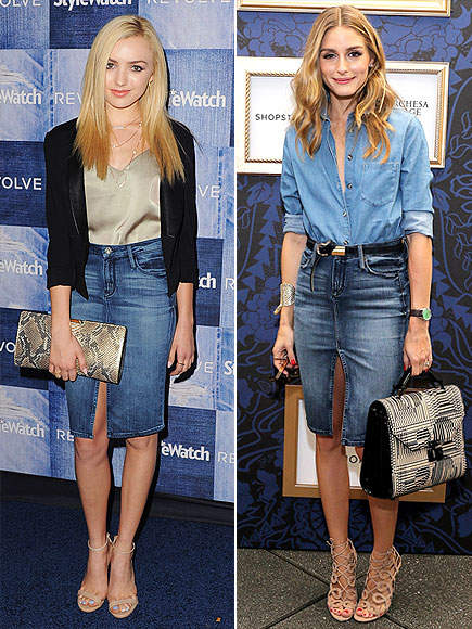 PEYTON VS. OLIVIA  photo | Olivia Palermo