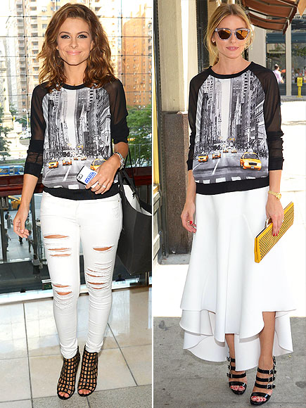 MARIA VS. OLIVIA photo | Maria Menounos, Olivia Palermo