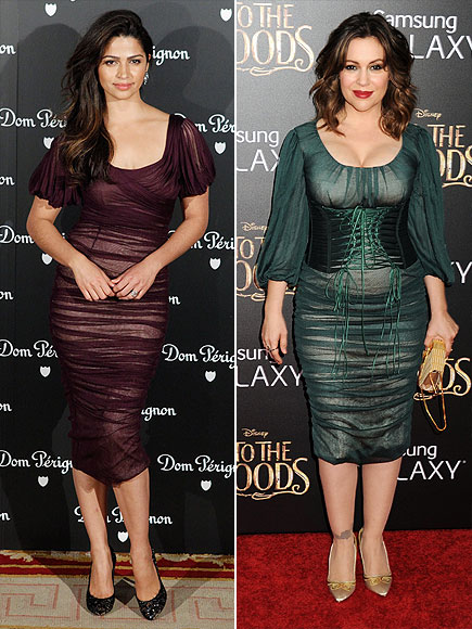 CAMILA VS. ALYSSA photo | Alyssa Milano, Camila Alves