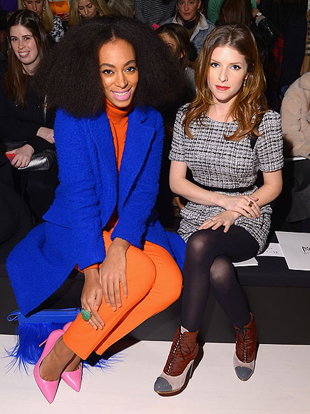 SOLANGE & ANNA KENDRICK photo | Anna Kendrick, Solange Knowles