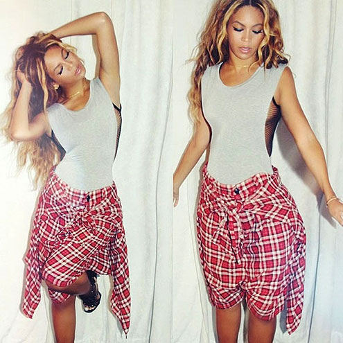 AS EDGY SHORTS photo | Beyonce Knowles