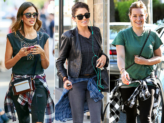 AROUND YOUR WAIST photo | Hilary Duff, Jessica Alba, Nikki Reed