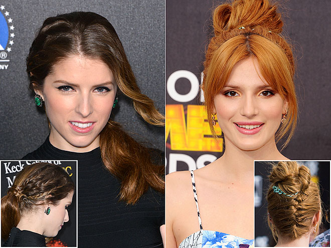 SURPRISE BRAIDS photo | Anna Kendrick, Bella Thorne