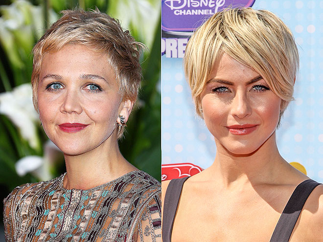 GOING SUPERBLONDE AND SUPERSHORT photo | Julianne Hough, Maggie Gyllenhaal