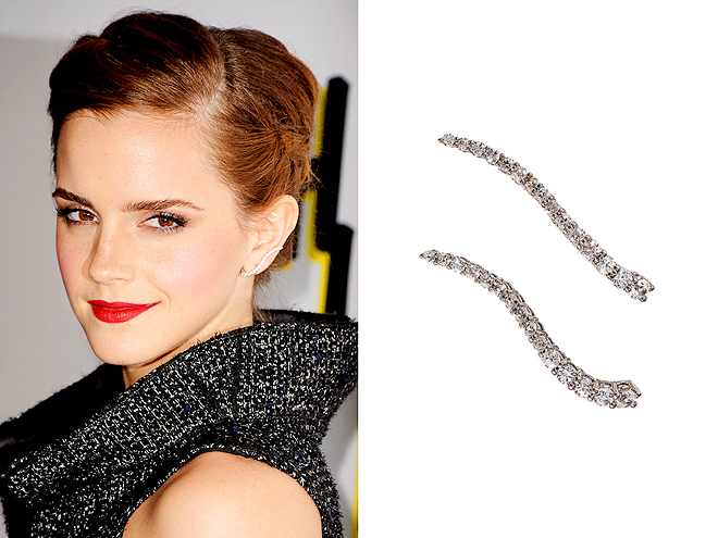 "GRAZIELA ""WAVE"" EAR CUFF photo 