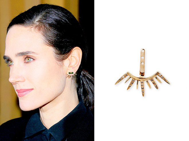 JACQUIE AICHE STARBURST EAR JACKET photo | Jennifer Connelly