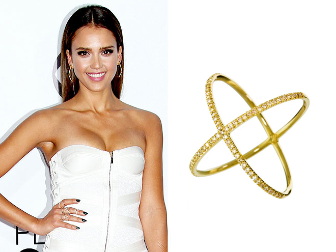 "EVA FEHREN ""X"" RING photo 