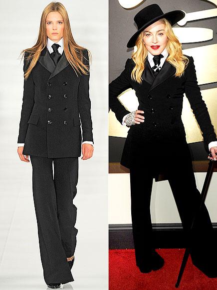 MADONNA IN RALPH LAUREN COLLECTION photo | Madonna