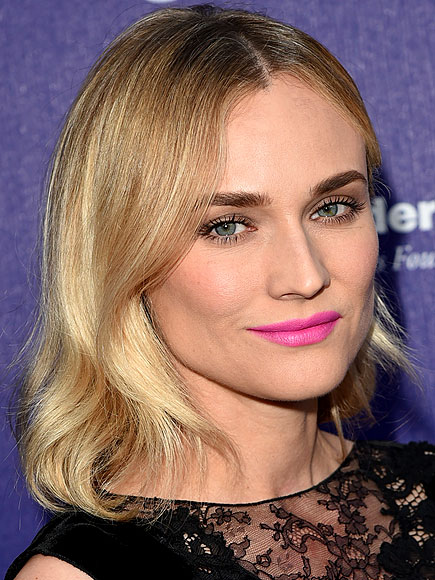 ROCK AN INSANELY BRIGHT LIP COLOR photo | Diane Kruger