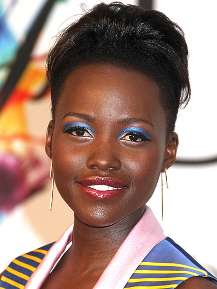 SWIPE ON BLUE SHADOW photo | Lupita Nyong'o