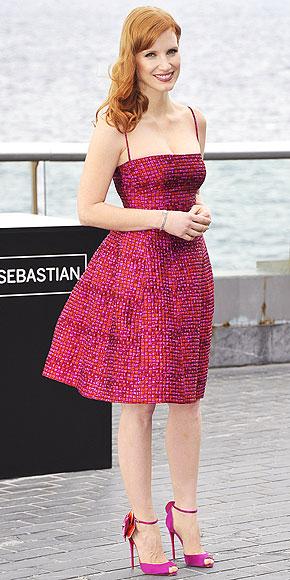 JESSICA CHASTAIN photo | Jessica Chastain, Sarah Jessica Parker
