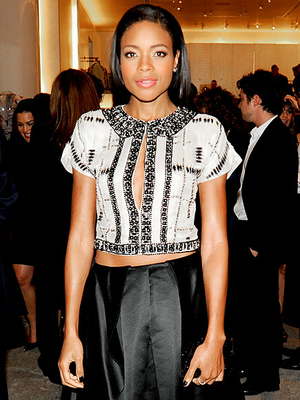 CROP TOPS WITH SLASHES photo | Naomie Harris
