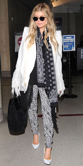 BANDANA SCARVES photo | Fergie