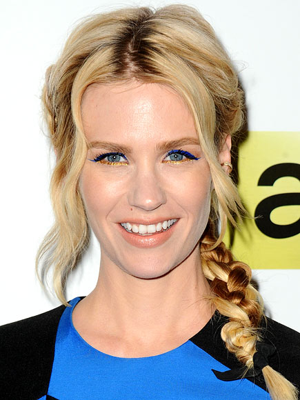 COLOR-BLOCK LINER photo | January Jones