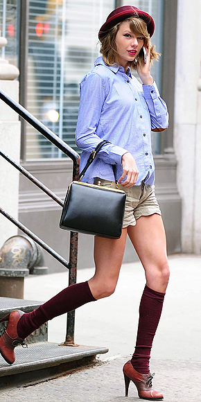 KNEE SOCKS photo | Taylor Swift